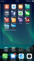 Managing the homescreen panes - vivo V5 Plus review