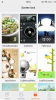 Lockscreen themes - Vivo V5 review