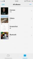 The Albums app is decent - Vivo V5 review
