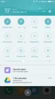 The notification drawer - Xiaomi Mi 6 review