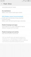 Managing a single app - Xiaomi Mi 5X review