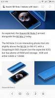 Mi Browser - Xiaomi Mi 5X review