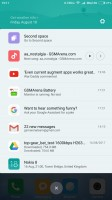 The notification drawer - Xiaomi Mi Max 2 review