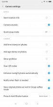 Camera settings - Xiaomi Mi Mix 2 review