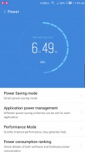 Power manager - Nubia Z17 review