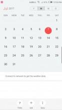 Calendar - Nubia Z17 review