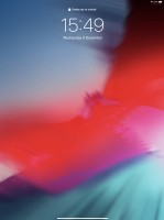 The lockscreen - Apple iPad Pro 12.9 (2018) review