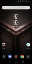 Home screen - Asus ROG Phone review