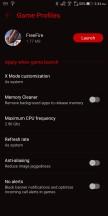 Game Profiles - Asus ROG Phone review