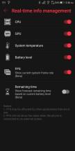 Game Center settings - Asus ROG Phone review