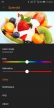 Splendid color settings - Asus ROG Phone review