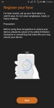 Security and lock screen settings - Asus ROG Phone review
