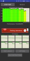 ROG Phone thermal-throttling test: With Fan - Asus ROG Phone review