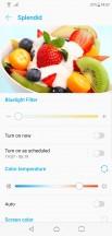 Display settings - Asus Zenfone 5z review