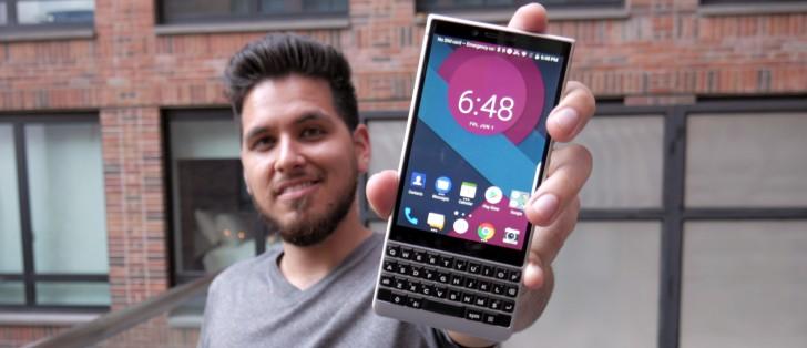 BlackBerry Key2 hands-on review - GSMArena com tests