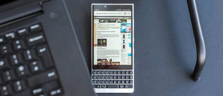 BlackBerry KEY2 review: Software, keyboard and performance