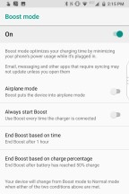 Settings - Blackberry KEY2 review