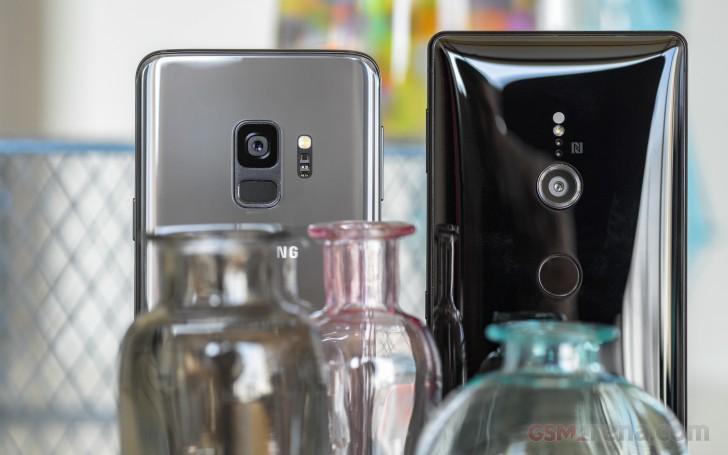 Galaxy S9 vs. Xperia XZ2 shootout review