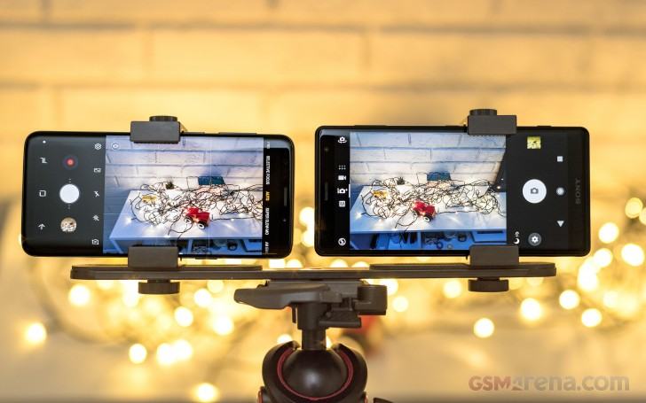 Galaxy S9 vs  Xperia XZ2 shootout: Image quality: Low light