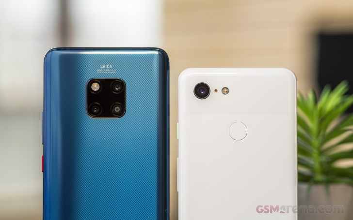 Google Pixel 3 vs. Huawei Mate 20 Pro night modes review