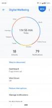 Digital Wellbeing - Google Pixel 3 XL review