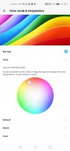 Most color-accurate setting - Honor View 20 review