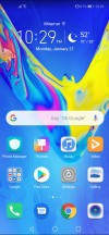 Launcher settings • App drawer setting • Home screen: Google feed - Honor View 20 review