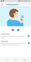 Edge Sense holding gestures - HTC U12 Plus Review review