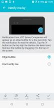 HTC Sense Companion app - HTC U12 Plus Review review