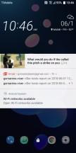Lockscreen - HTC U12 Plus Review review