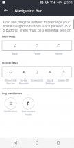 Nav bar: first panel - HTC U12 Plus Review review