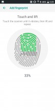 Fingerprint scanner - HTC U12 Plus Review review