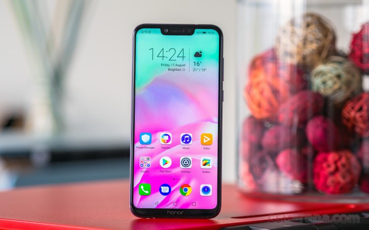 Honor Play review: Lab tests - display, battery, audio