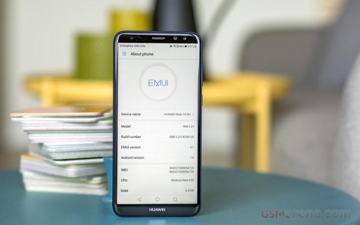 Huawei Mate 10 Lite long-term review: Software