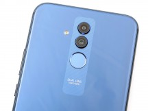 Dual camera and fingerprint sensor along the central axis - Huawei Mate 20 lite review