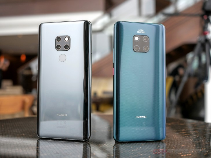 Huawei Mate 20, 20 Pro, and 20 X hands-on review - GSMArena