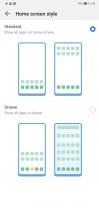 Homescreen styles - Huawei Mate 20 Pro review