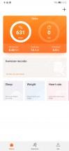 Huawei Health - Huawei Mate 20 Pro review