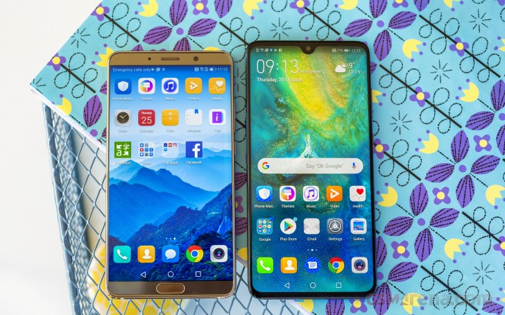 Huawei Mate 20 review: Design and spin