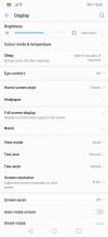 Display settings - Huawei Nova 3 review