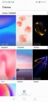 Theme chooser - Huawei P20 Lite review