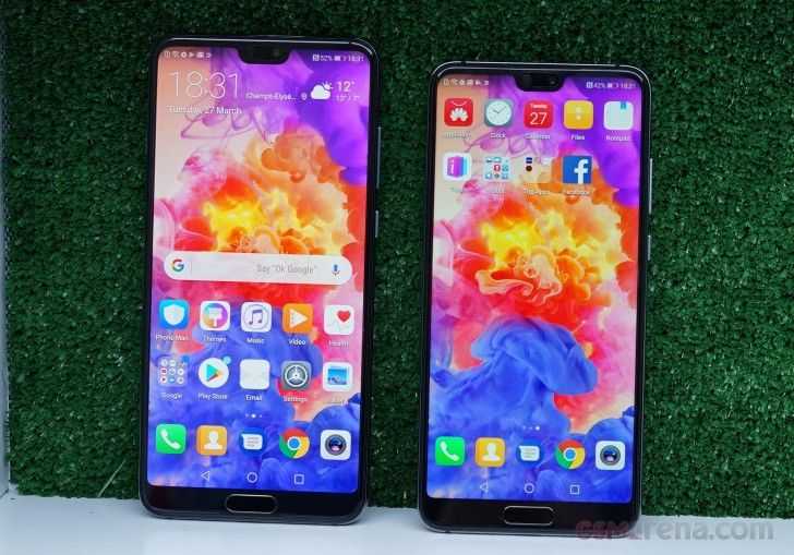 Huawei P20, P20 Pro and Mate RS hands-on review: Huawei P20