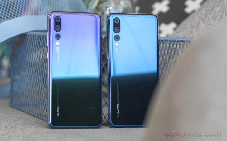 Huawei P20 Pro Paris photo shoot