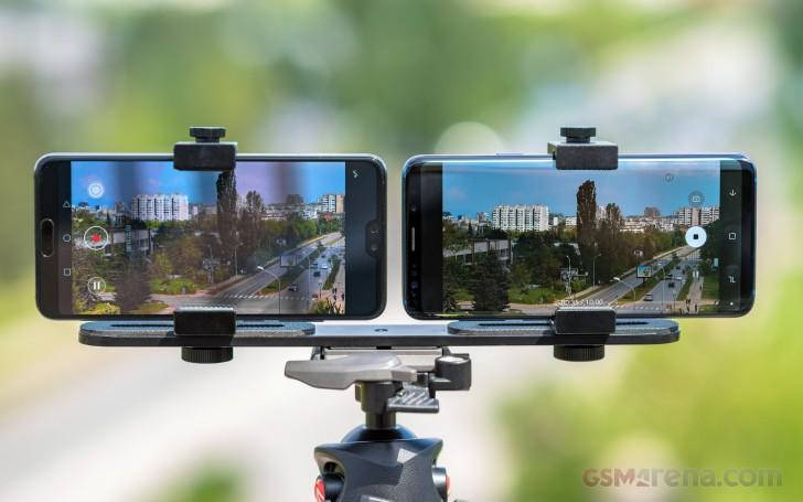 Huawei P20 Pro vs  Samsung Galaxy S9+: Video quality