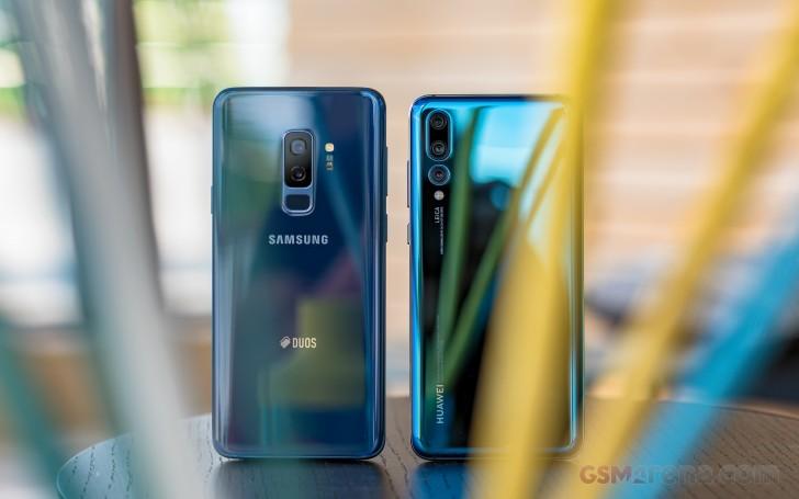 Huawei P20 Pro vs. Samsung Galaxy S9+ shootout