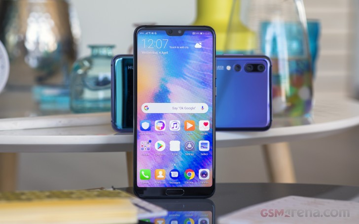 Huawei P20 Pro review: Lab tests - display and audio quality