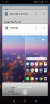 Task switcher - Huawei P20 Pro review