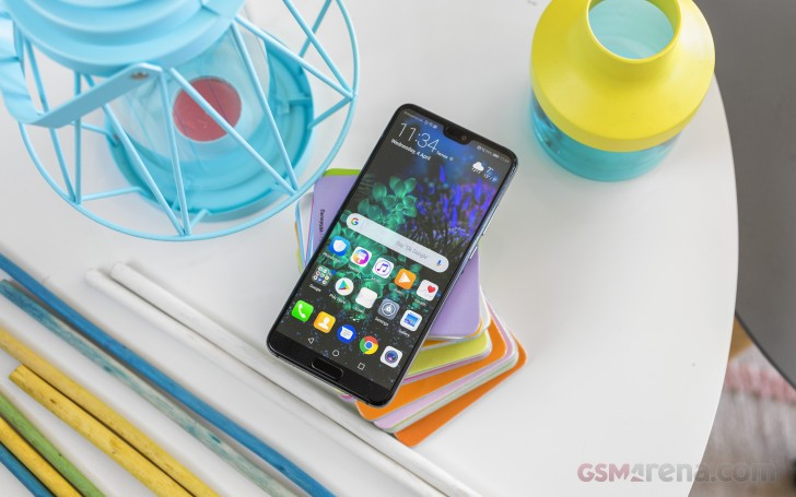 Huawei P20 review: User interface