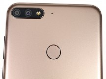 Camera/flash assembly, fingerprint reader and a mic - Huawei Y7 Prime (2018) review