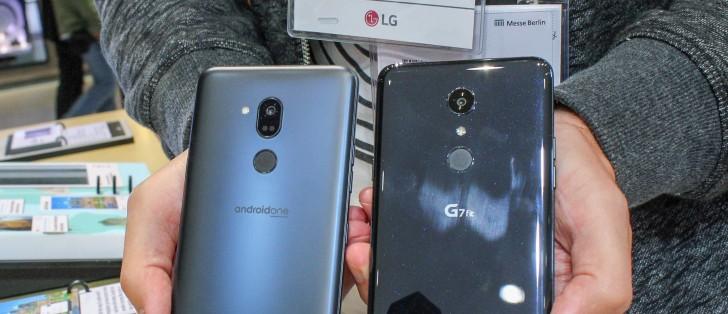 LG G7 One, G7 Fit hands-on review - GSMArena com tests